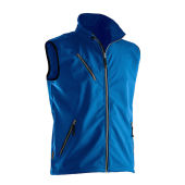 Jobman 7502 Light softshell vest kobalt 4xl