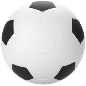 Football anti-stress bal - Zwart/Wit