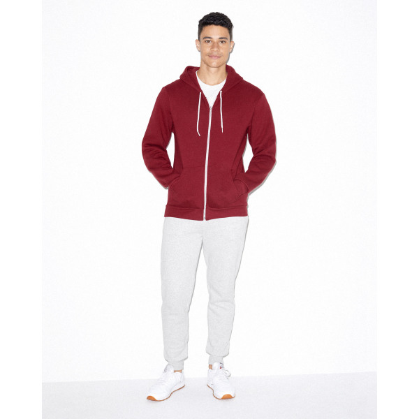 AMA Sweater Hooded Zip Flex Fleece for him