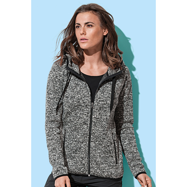 Stedman Knit Fleece Cardigan for her