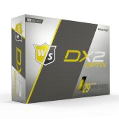 Wilson DX2 Optix Yellow White Golf Balls