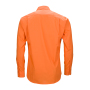 Men's Business Shirt Longsleeve oranje