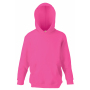 Kids Classic Hooded Sweat, Fuchsia, 14-15jr, FOL