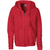 Heavy blend™ ladies' full zip hooded sweatshirt