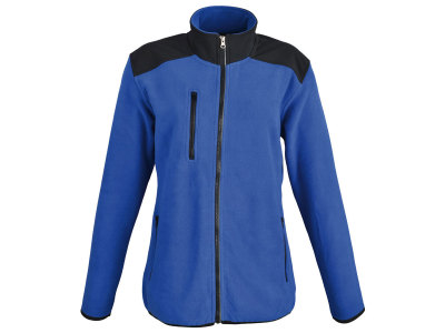 SW BESILA WOMEN dames fleece jack met softshell applicaties. 100% polyester fleece, softshell, 280 g/m2. S-XXL