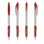 Atlantis ballpen Blue IN_BA white_Trim red_Grip red