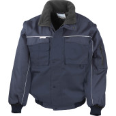 Zip sleeve heavy duty jacket