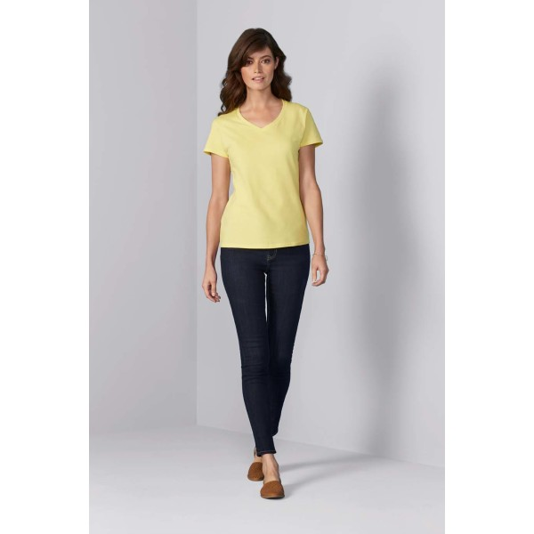 Gildan T-shirt Premium Cotton V-neck SS for her