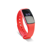 Activity tracker hartslag rood
