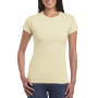 Gildan T-shirt SoftStyle SS for her sand S