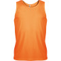 Herensporttop orange xs