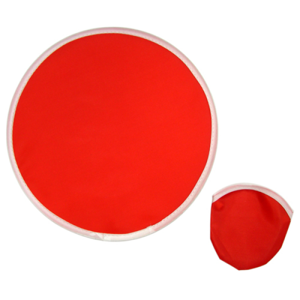 25cm Foldable Frisbee - Red