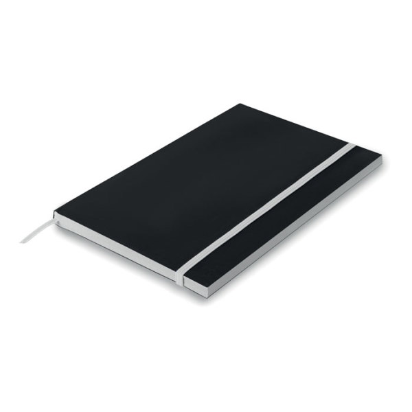 BLACK NOTE - A5 Paper cover notebook lined