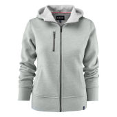 Parkwick Hooded Lady Jacket Greymelange