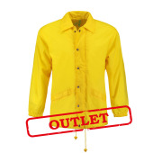 L&S Coach Jacket Nylon Yellow 35% korting XXXL