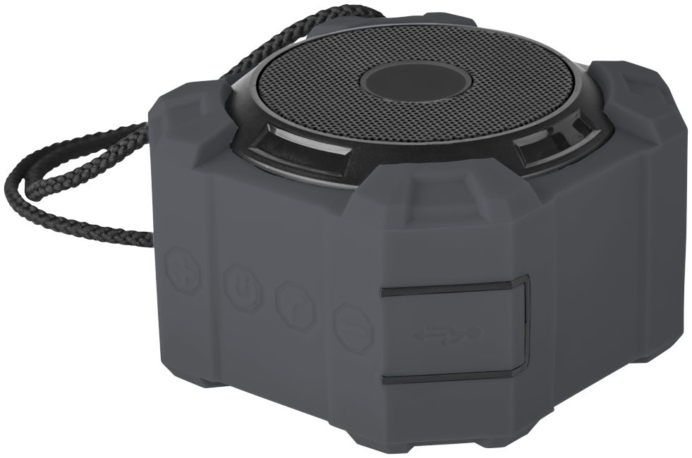 Cube outdoor Bluetooth® luidspreker - Zwart