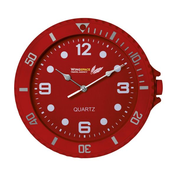 Analoge Quartz wandklok Watch-It - Kunststof