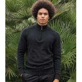 Unisex Wakhan Zip Neck Regen Sweater