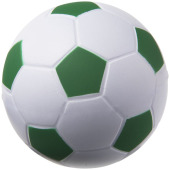 Football anti-stress bal - Groen/Wit