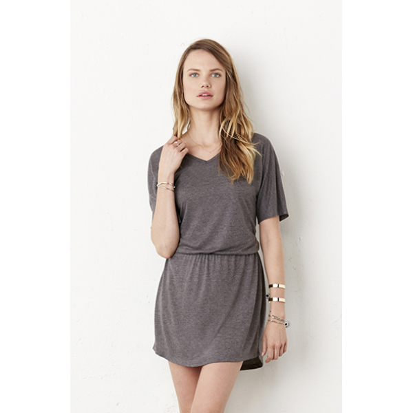 Flowy V-Neck Dress