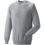 Classic crew neck sweatshirt light oxford xxl