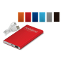 Powerbank Slim TUV GS 4000mAh zwart
