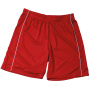 Basic Team Shorts Junior rood/wit