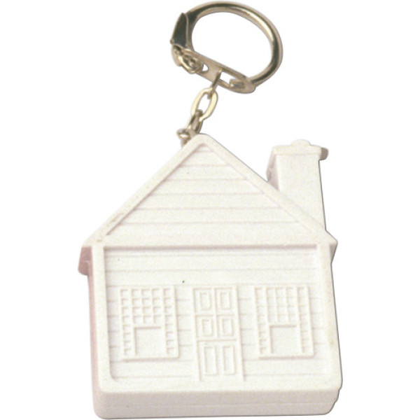 ABS key holder tape measure