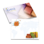 101 mm x 75 mm 25 Sheet Adhesive Notepads White Paper