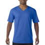 Gildan T-shirt Premium Cotton V-Neck SS for him Royal Blue S