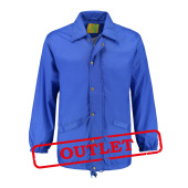 L&S Coach Jacket Nylon Royal Blue-35% korting XXXL