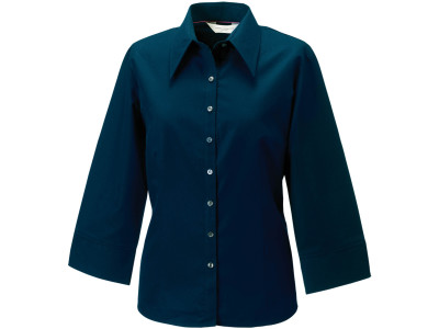 Ladies' 3/4 sleeve tencel® fitted shirt