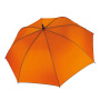 Automatische golfparaplu orange / dark grey one size