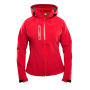 Clique Milford Jacket Ladies rood s