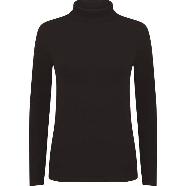 Women's feel good roll neck top