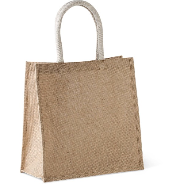 Shopper van jutecanvas - groot model