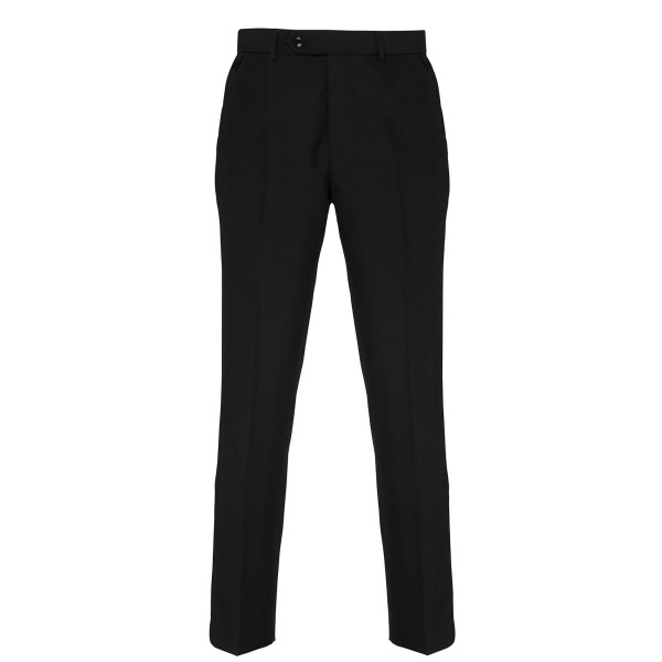 Men's tailored polyester trousers