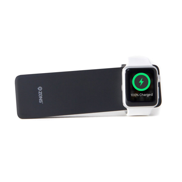 ZENS Apple iPhone & Watch Powerbank  - black