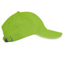 lime / white one size