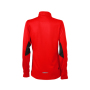 Ladies' Running Shirt - tomaat/zwart