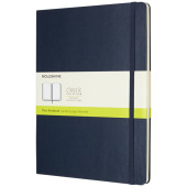 Classic XL hard cover notitieboek - effen