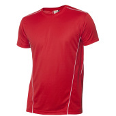 Clique Ice Sport-T rood/wit xs