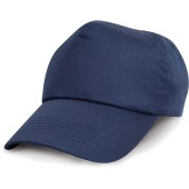 Cotton cap navy one size