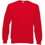 Classic raglan sweat (62-216-0) red xxl