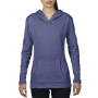 Anvil Sweater Hooded French Terry for her Heather Blue-35% Korting S