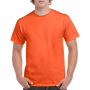 Gildan T-shirt Heavy Cotton for him orange L