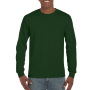 Gildan T-shirt Ultra Cotton LS forest green S