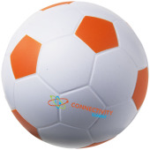 Football anti-stress bal - Wit,Oranje