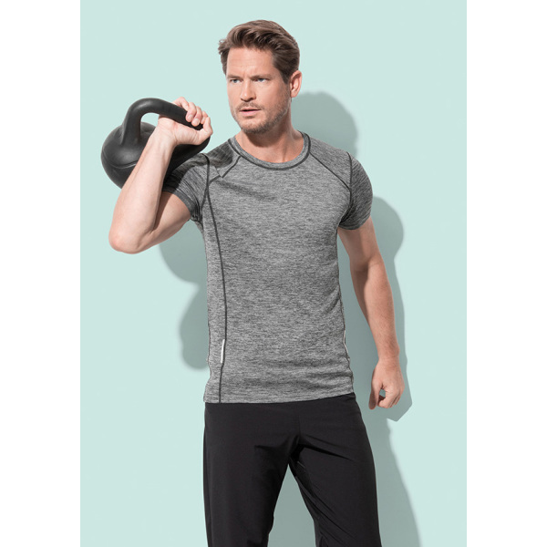 Stedman T-shirt Active-Dry reflective SS for him