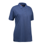 Ladies' PRO Wear polo shirt - Blue melange, XS